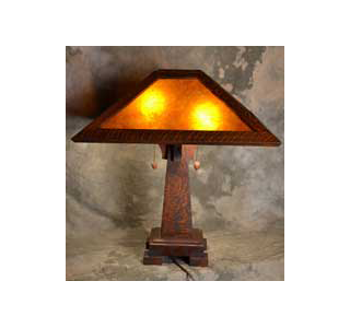 Holland Mica Table Lamp