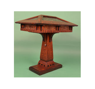 Ragsdale mission oak mica and stained glass table lamps mica desk lamp aloadofball Image collections