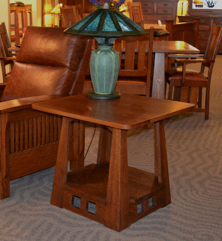 Ragsdale home furnishings for Mission style end table plans