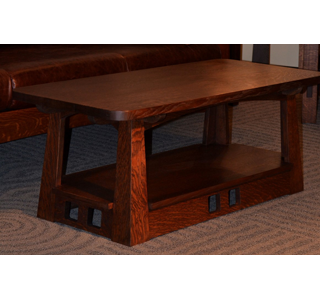 Limbert Style Mission Arts And Crafts Coffee Table