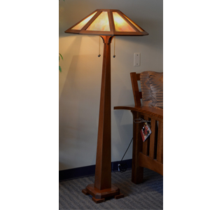 Mica Table Lamps Mission Arts And Crafts Style Lamp Tables